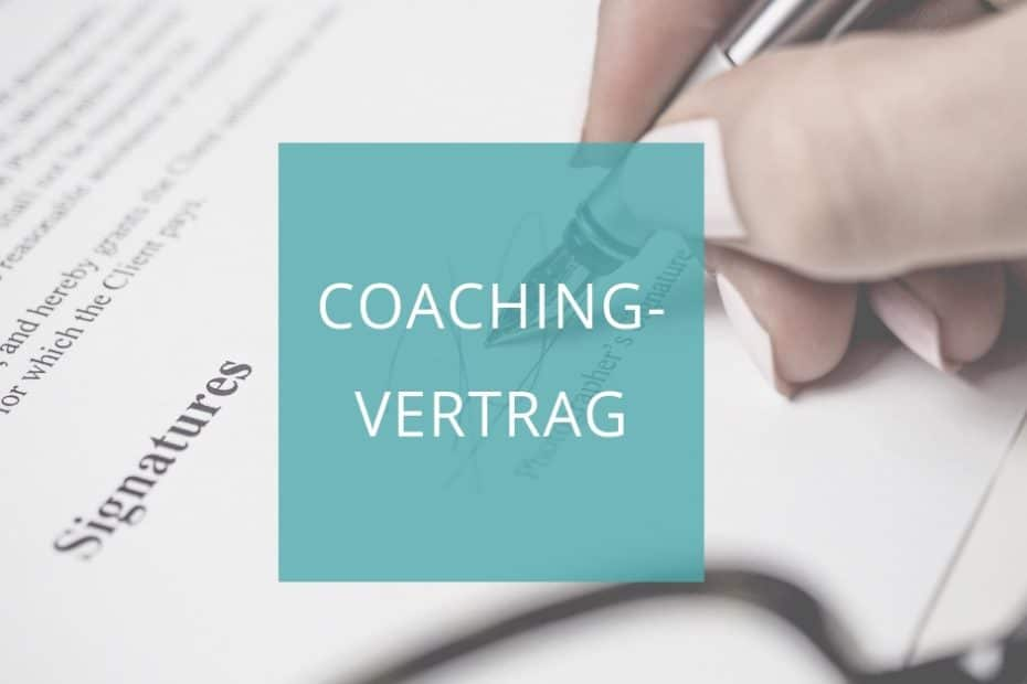 Coachingvertrag