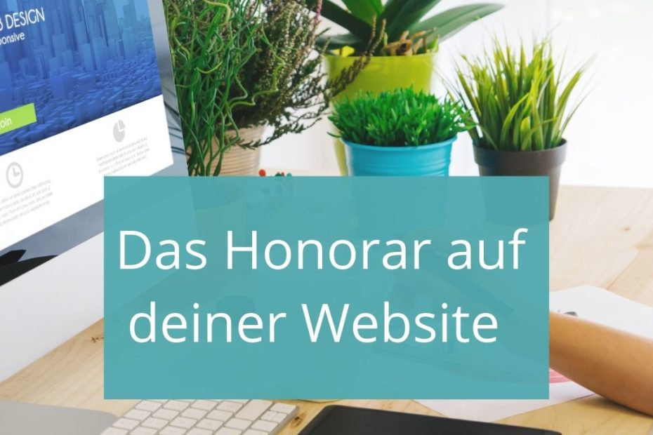 Honorar Website