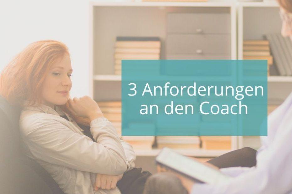 Anforderungen an Coaches