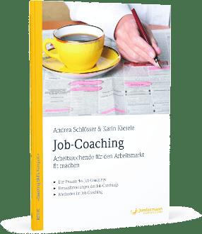 """Buch """"Job-Coaching für Arbeitsuchende"""" von Andrea Schlösser und Karin Kiesele, erschienen im Jungfermann-Verlag"""