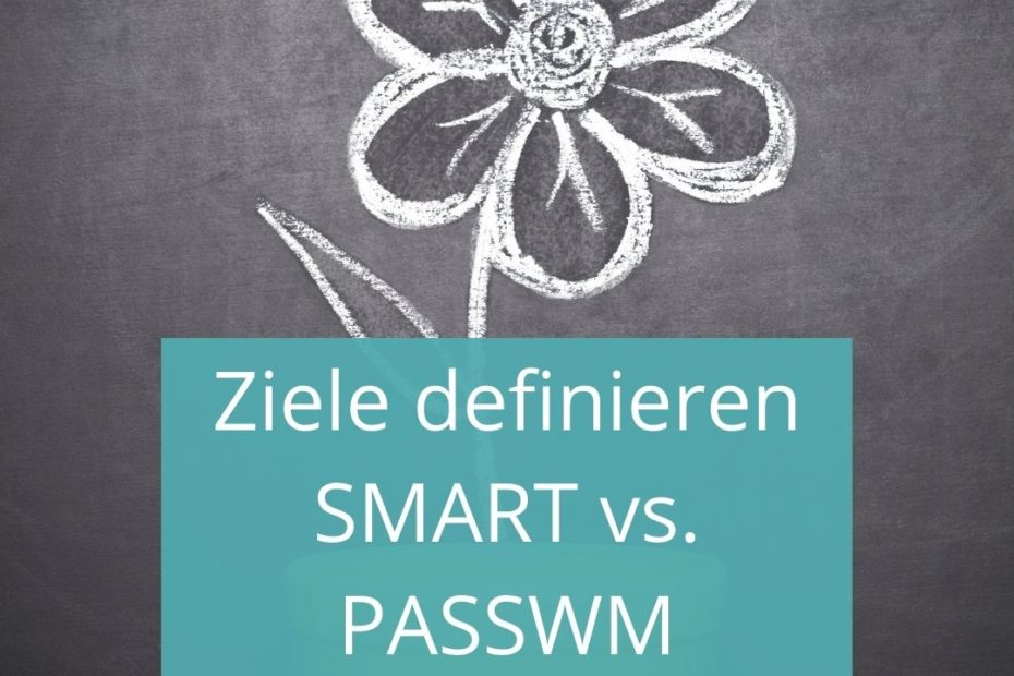 Smarte Ziele vs. Passwm