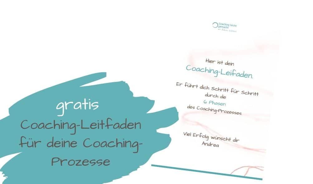 Leitfaden für Coaches